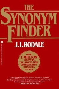 The Synonym Finder - recommended thesaurus