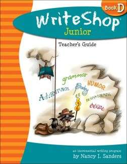 WriteShop Junior Book D Teacher's Guide
