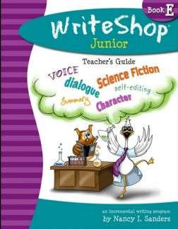 WriteShop Junior Book E - Homeschool writing curriculum for 4th or 5th grade