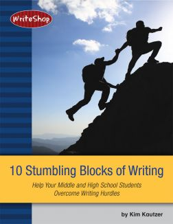 10 Stumbling Blocks of Writing | Help Your Middle and High School Students Overcome Writing Hurdles