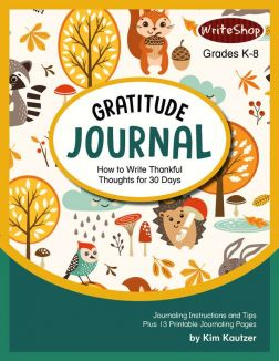 Keeping a Gratitude Journal | 30 Days of Thankful Thoughts with Printables