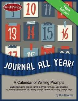 240 teen essay writing prompts spread over a calendar year help middle and high school students develop the habit of daily writing.