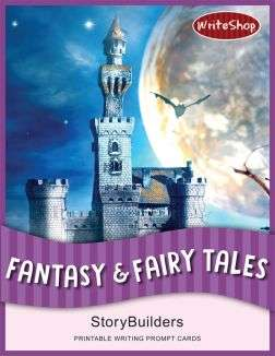 Kids can create amazing worlds with these Fantasy & Fairy Tales StoryBuilders Writing Prompt Cards!
