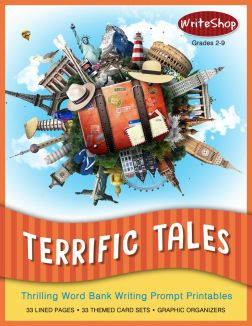 Terrific Tales Story Prompt Printables