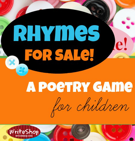 With this rhyming poetry game, kids have fun learning while they're busy playing with words!