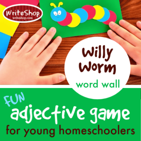 "This fun adjective game introduces ""describing words"" to K-3rd graders into a meaningful activity."