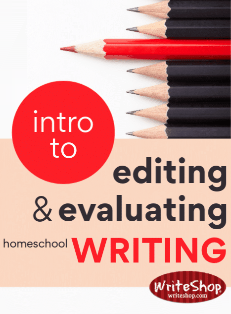 Ways to give your kids writing feedback, plus tips to help you overcome insecurity and doubt about editing and evaluating homeschool writing lessons.