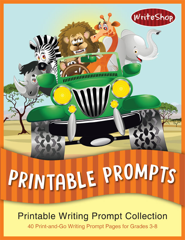 Printable Writing Prompt Collection | 40 print-and-go writing prompts from WriteShop