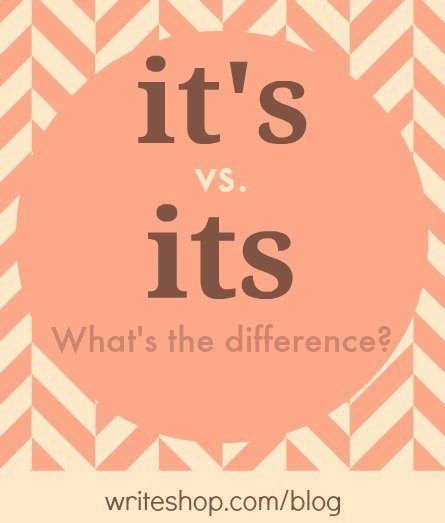 It's vs. its: What's the difference?